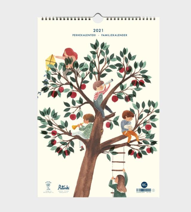 polka paper perhekalenteri 2021