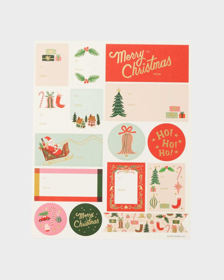 joululahjoihin pakettitarrat