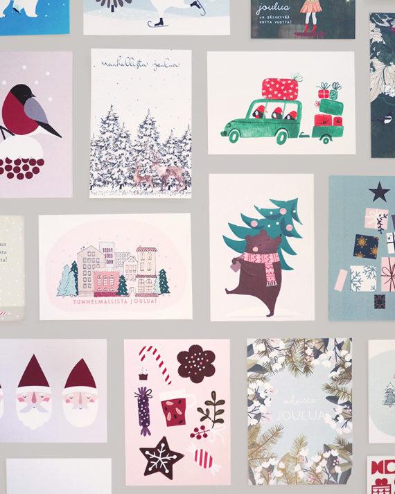 joulupostikortit