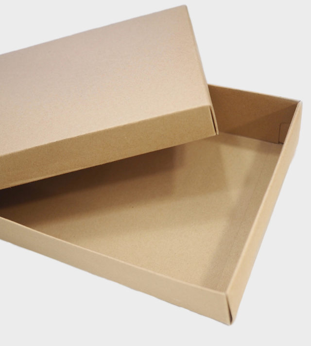 lahjalaatikko ruskea