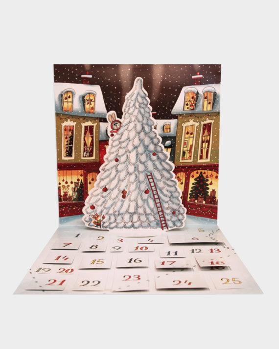 joulukalenteri tarrat
