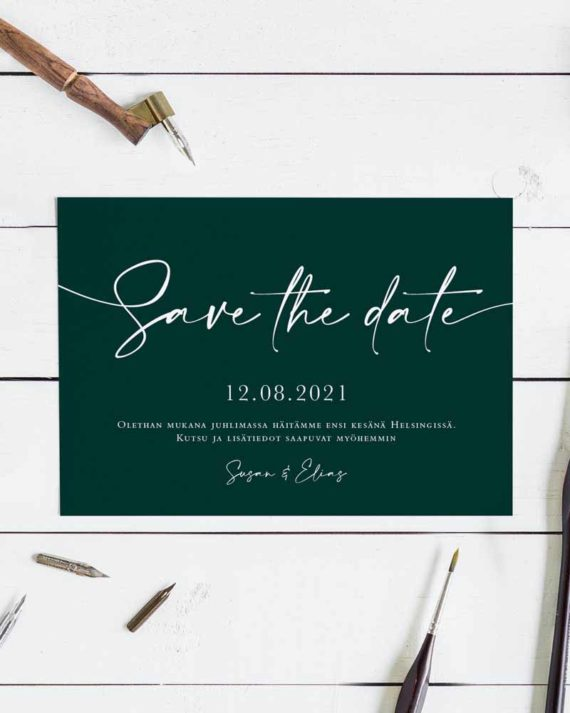 save the date design kortit