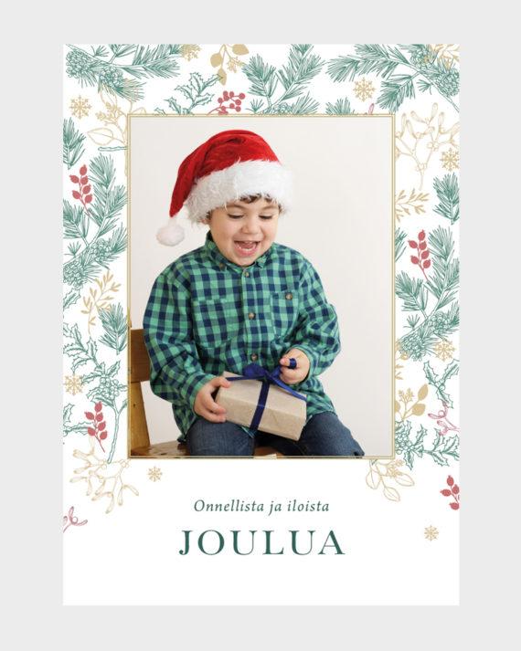 joulukortit omilla valokuvilla