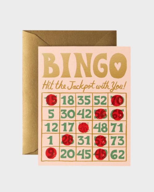 Bingo kortti rakkaalle