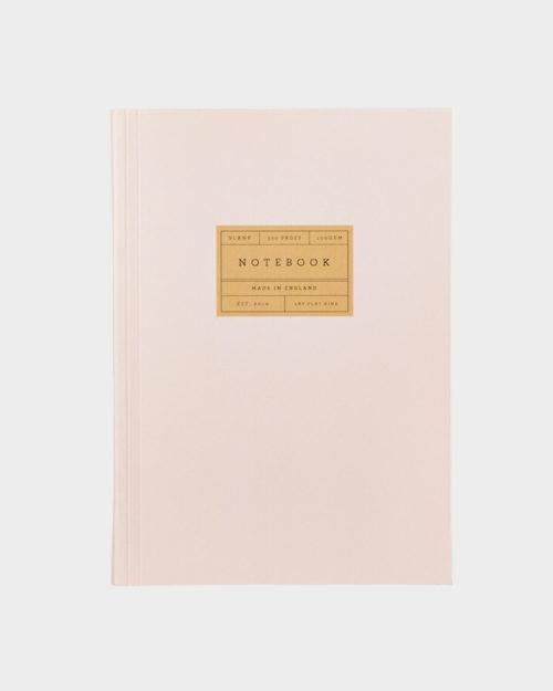 vaaleanpunainen muistikirja