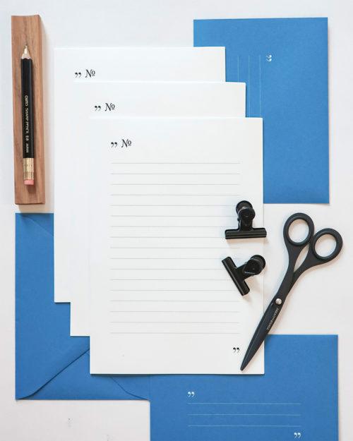Kirjesetti Type blue
