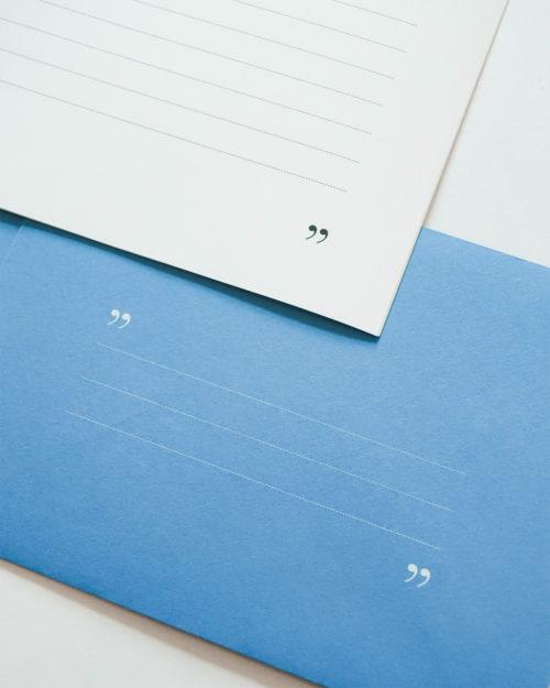 Kirjesetti Blue type