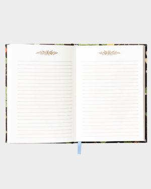 Muistikirjan aukeama