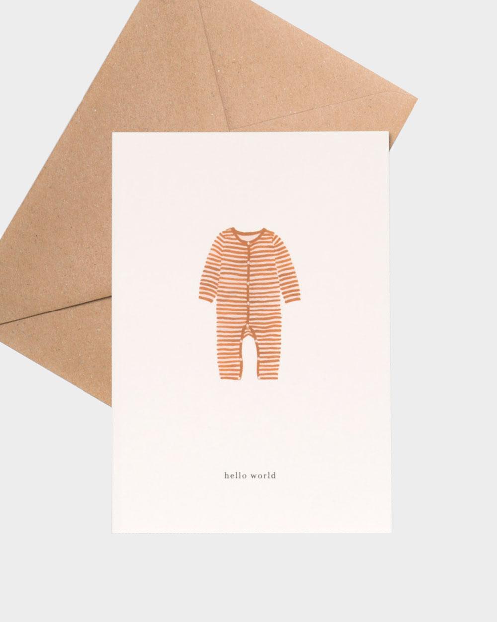 Baby onesie vauvakortti
