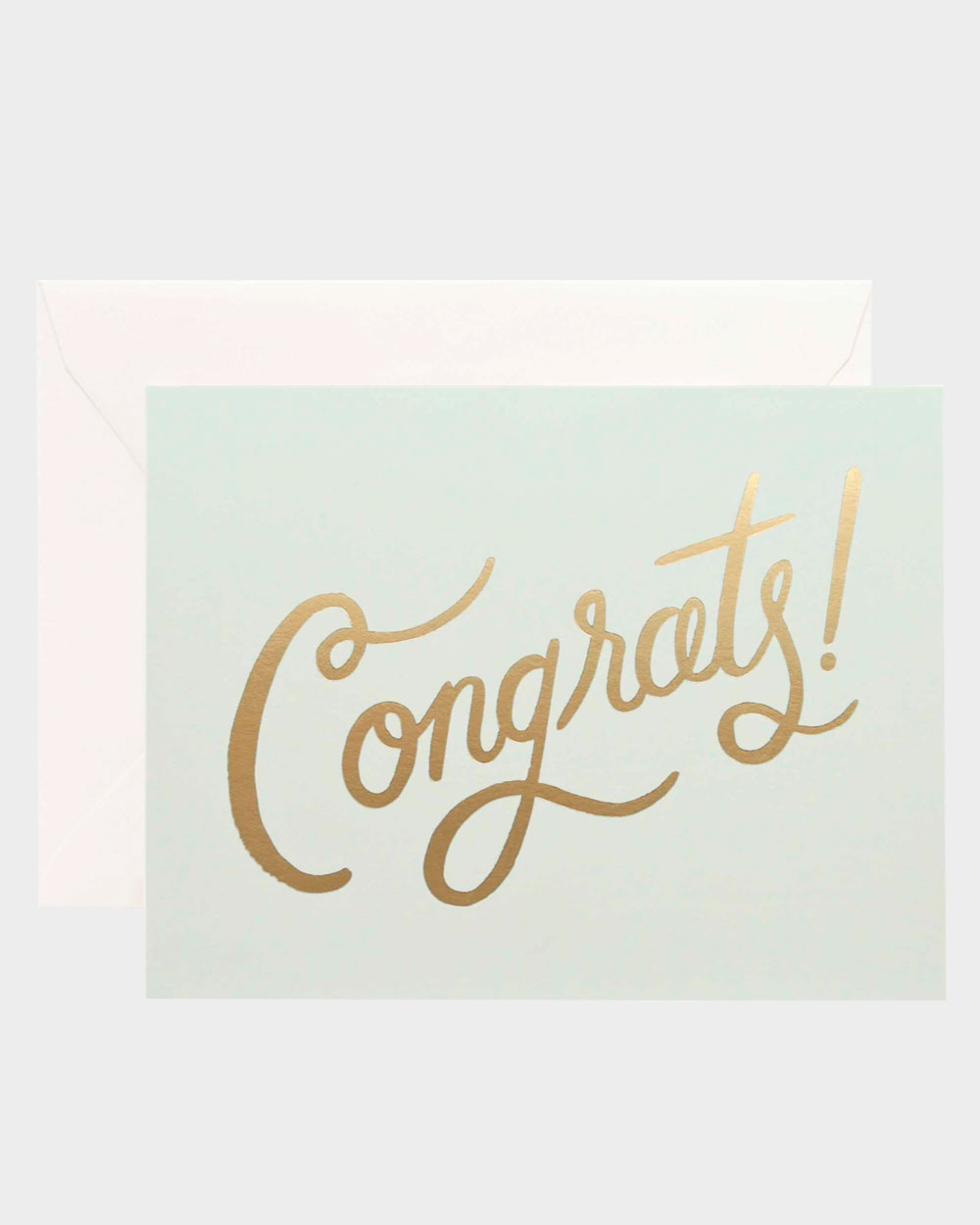 onnittelukortti englanninkielisellä tekstillä congrats