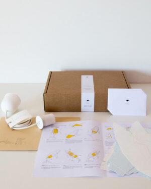 Owl Paperlamps DIY paperivalaisin setti