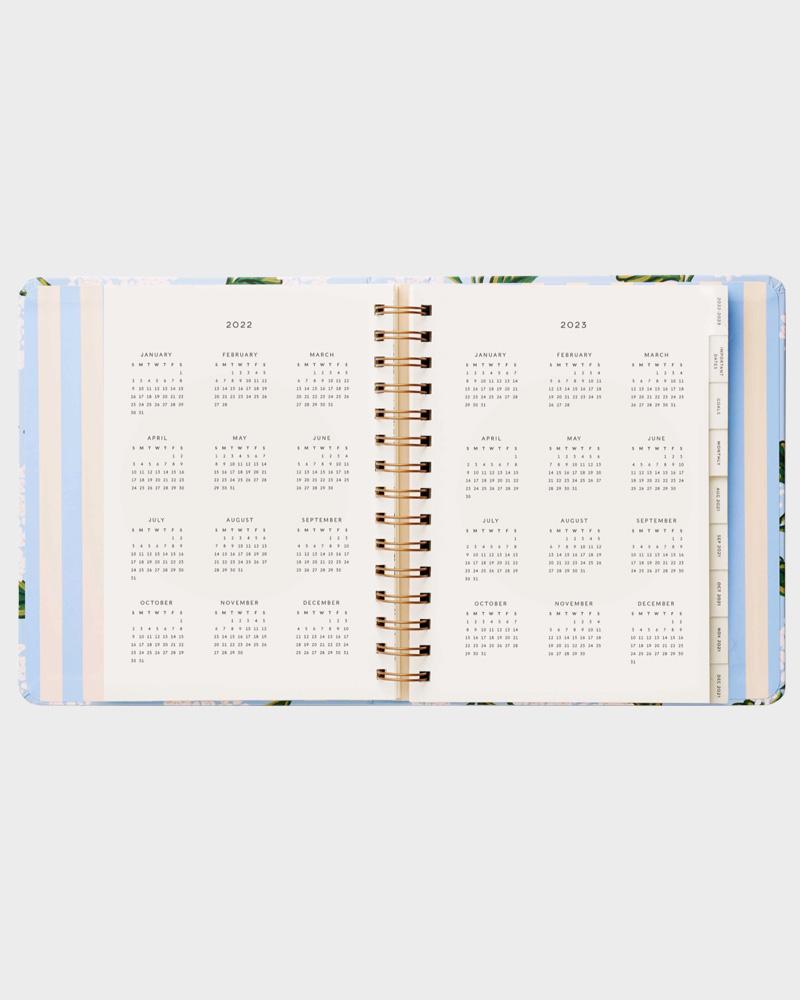 Hydrangea kalenteri vuosinäkymä