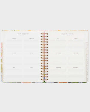 Marguerite kalenteri vuosinäkymä