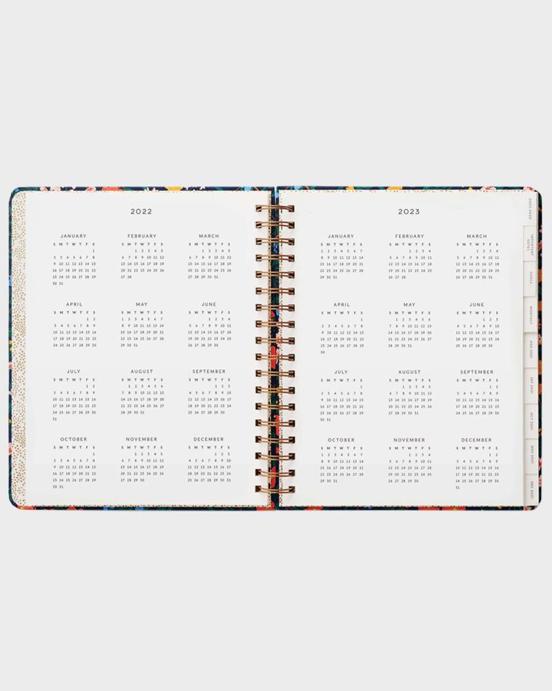 Wildwood kalenteri vuosinäkymä
