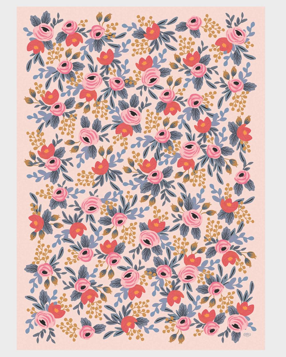 Blushing rosa lahjapaperi