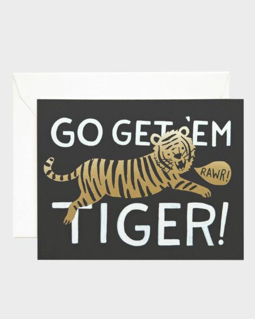 Go get 'em tiger kortti