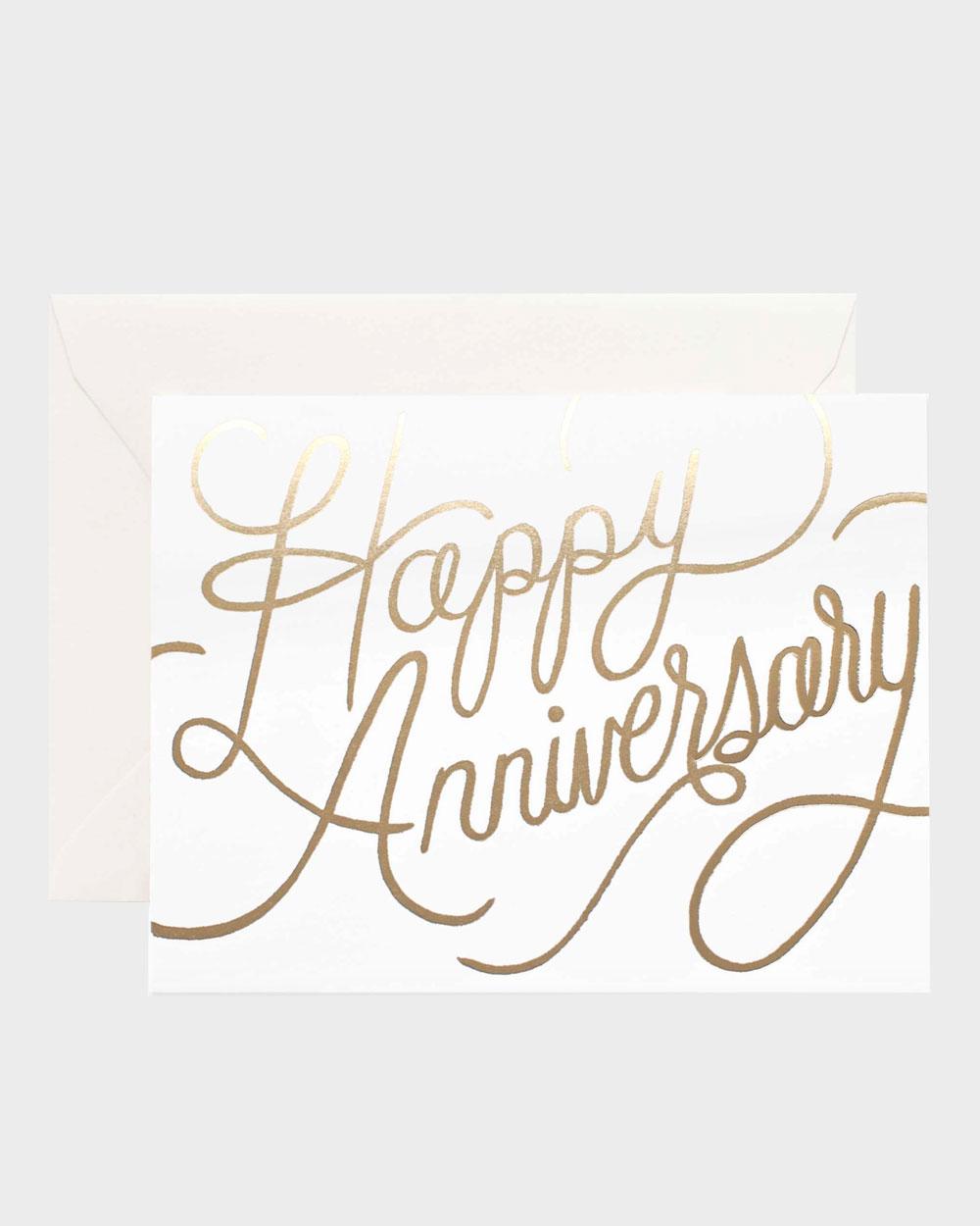 Happy Anniversary kortti