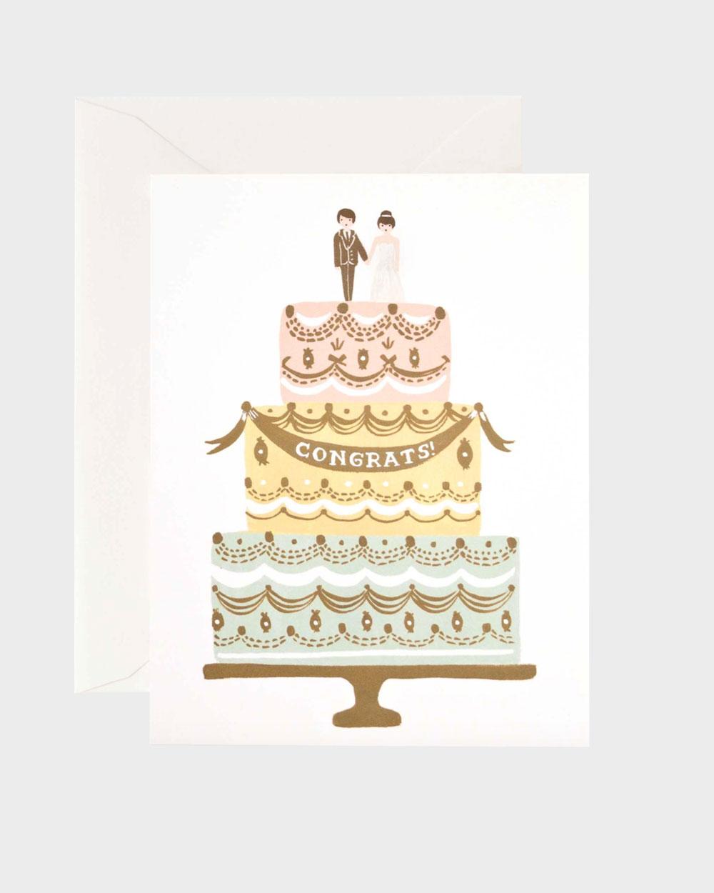 Wedding Cake kortti