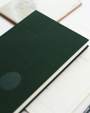 Kartotek Copenhagen muistikirja tummanvihreä