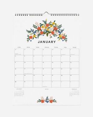 Luxembourg Appointment 2022 seinäkalenteri