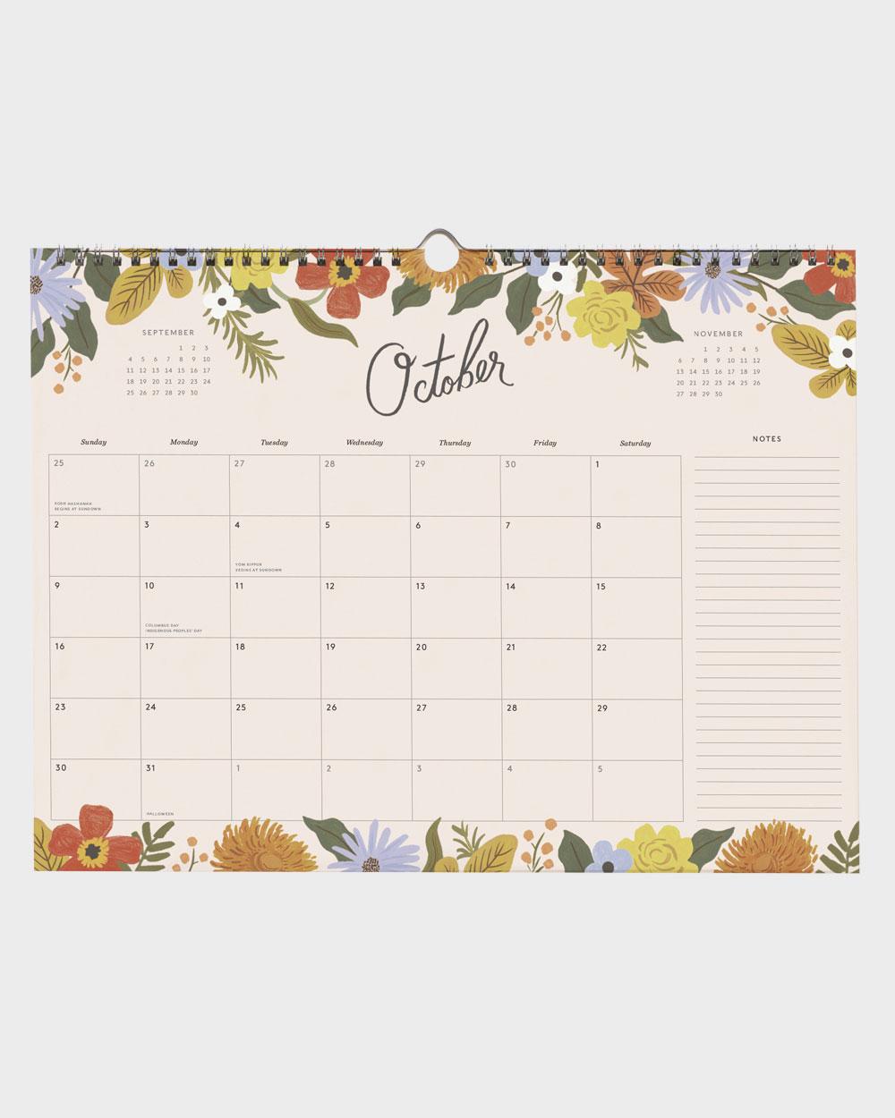Marguerite Appointment 2022 seinäkalenteri