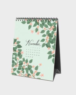 Wild Garden 2022 pöytäkalenteri marraskuu