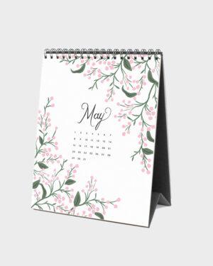 Wild Garden 2022 pöytäkalenteri toukokuu
