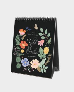 Wild Garden 2022 pöytäkalenteri kansi