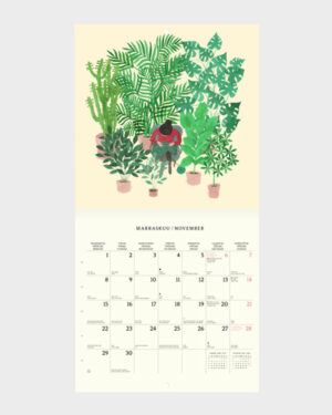 Polka Paper seinäkalenteri 2022 marraskuu