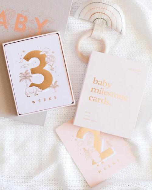 Baby Milestones Vauvakortit